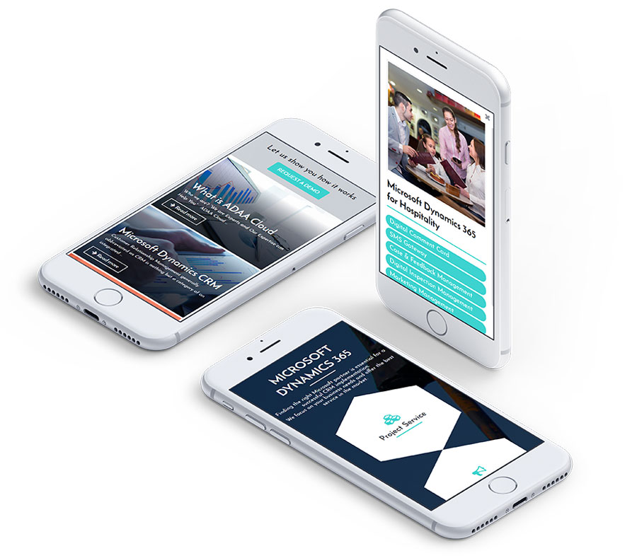 Powermax Technology Services, Abu Dhabi Web Design (UI/UX)