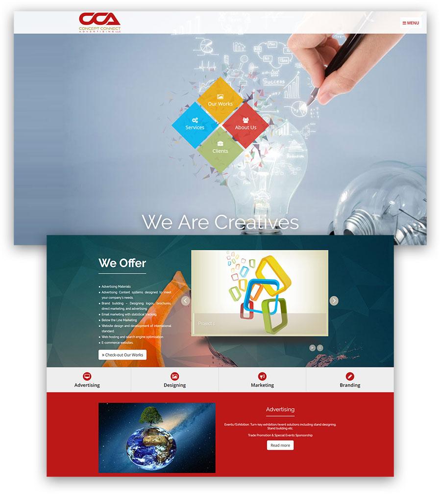 St. John Paul II Learning Center Inc. Website Design (Static)