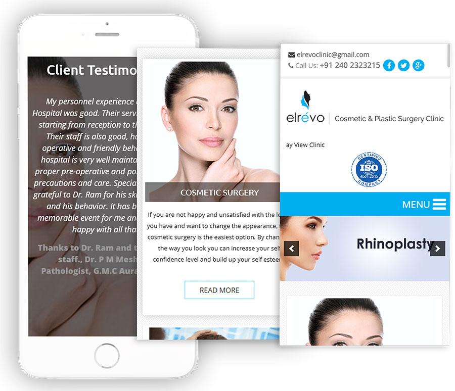 Elrevo Clinic Web Design & Development (WordPress)