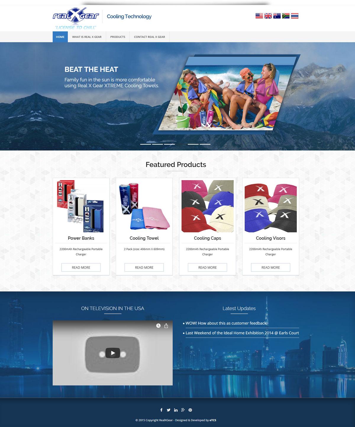 RealXGear Website Design & Development (WordPress)