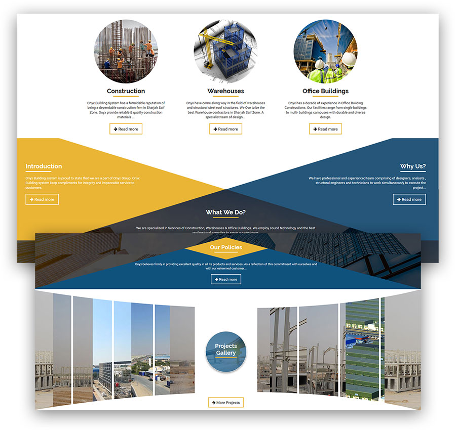 Nilona Holdings Web Design & Development (Joomla)