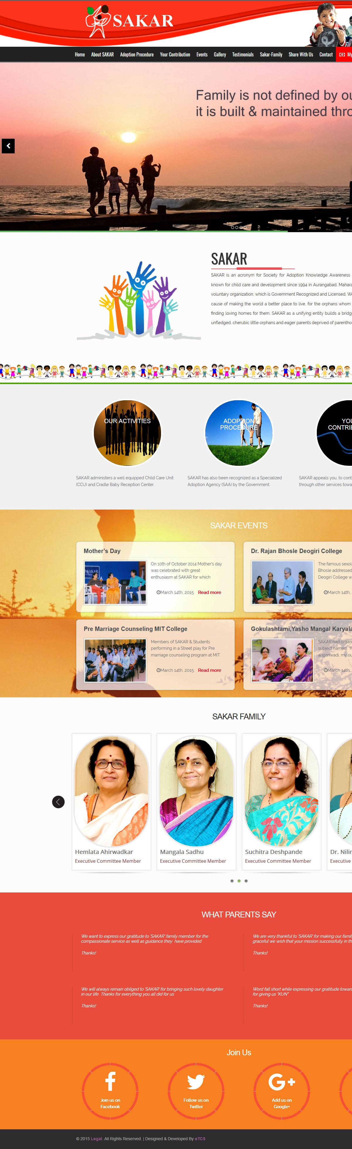SAKAR Web Design & Development (Wordpress)